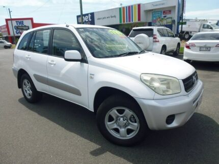 2004 Toyota RAV4 ACA23R CV White 4 Speed Automatic Wagon Cairns Cairns City Preview