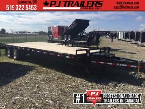 2019 PJ Trailers 30' Classic Pintle with Duals, 25k GVW (PDP)