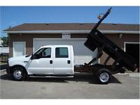 2006 FORD F-350 XL SUPERDUTY 2WD 9FT DUMP DECK 89K ONLY $18,900.