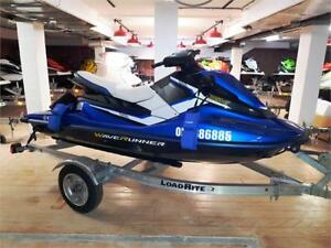 2017 Yamaha EX Deluxe - only 9 hours & comes with trailer!