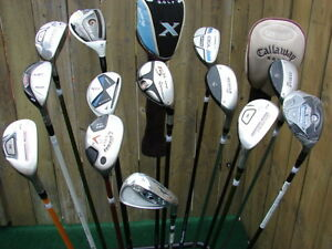 Right Hand Hybrid Rescue drivers top model Tayormade, Callaway,
