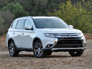 2016 Mitsubishi Outlander ES touring lease transfer