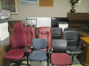 OFFICE CHAIRS LARGE INVENTORY-NEW AND USED Peterborough Peterborough Area image 2