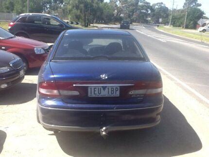1999 Holden Calais VT Blue 4 Speed Automatic Sedan