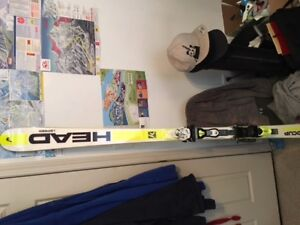Head skis world cup rebels brand new