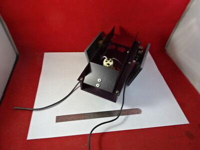 Reichert Polyvar Leica Lamp Illuminator Assembly Microscope Part As Is 91-108