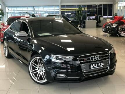 2013 Audi S5 8T MY13 Sportback S tronic quattro Black 7 Speed Sports Automatic Dual Clutch Hatchback Dandenong Greater Dandenong Preview
