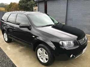 2007 Ford Territory SY Ghia (RWD) Black 4 Speed Automatic Wagon Spreyton Devonport Area Preview