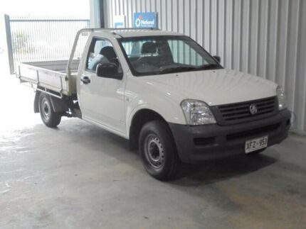 2005 Holden Rodeo RA DX 5 Speed Manual Cab Chassis