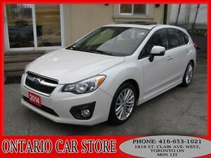 2014 Subaru Impreza LIMITED AWD NAVIGATION LEATHER SUNROOF