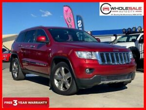 2011 Jeep Grand Cherokee WK Limited Wagon 5dr Spts Auto 5sp 4x4 3.0DT [MY11] Red Sports Automatic Minchinbury Blacktown Area Preview