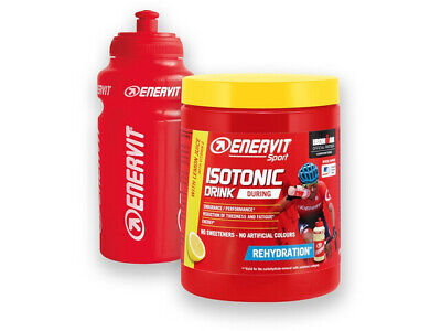 Enervit Isotonic Sports Rehydration Drink 420g Tub With Free Bottle