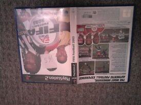 FIFA Football Bundle PlayStation 2 Games x7