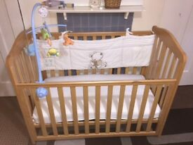 Mothercare Baby Cot Good Condition