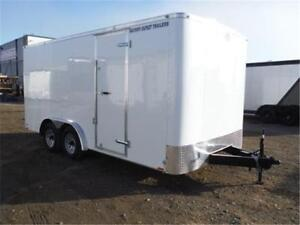 **GUARANTEED LOWEST PRICE** 8 X 16 ENCLOSED TRAILER - GST INCL.