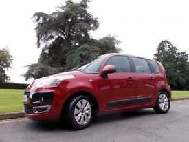 CITROEN C3 PICASSO 1.6 PICASSO VTR PLUS HDI 5d 90 BHP £30 A YEA (red) 2009