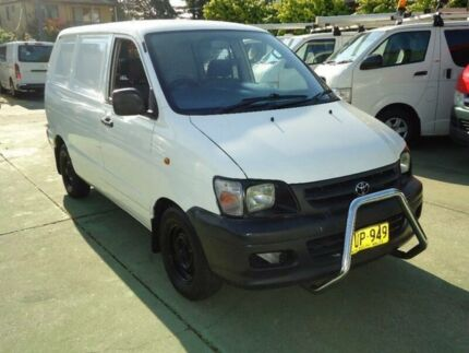 2003 Toyota Townace KR42R SBV White 4 Speed Automatic Van Canada Bay Canada Bay Area Preview