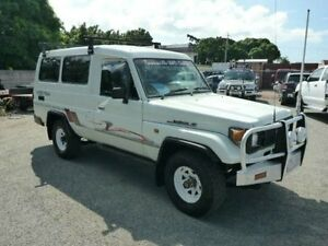 1995 Toyota Landcruiser FZJ75RV RV LWB (4x4) White 5 Speed Manual Hardtop Townsville Townsville City Preview