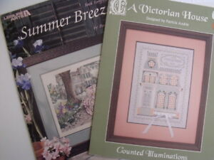 "Counted Cross Stitch Pattern – ""Summer Breeze"" & ""A Victorian Ho"