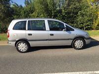 2005 Vauxhall Zafira 1.6 7 seater mpv with 12 months mot 7 seats cheap reliable car