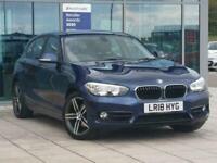 2018 BMW 1 Series 120d Sport 5dr [Nav/Servotronic] Step Auto Hatchback Diesel Au