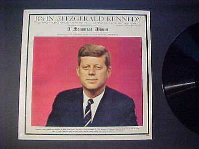 1961-63 Джона OLD RECORD ALBUM ~PRESIDENT