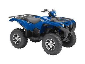 2017 Yamaha Grizzly EPS - Steel Blue