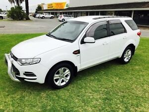 2012 Ford Territory SZ TS (4x4) White 6 Speed Automatic Wagon Maddington Gosnells Area Preview