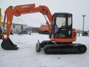 HITACHI excavator EX75UR