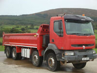 2007 Renault Kerax 370 DCI 8x4 Tipper Thompson Steel Body