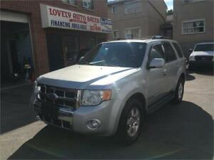 2008 Ford Escape Limited ,NAVIGATION ,AWD