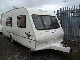 Bailey Pageant Champagne, 2004 Model with Motor Mover, Light Caravan in Excellent Condition! *