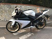 Yamaha YZF R125 2014 8k miles White & Black Good Bike