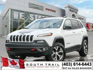 '18 Jeep Cherokee Trailhawk V6 3.6 Full AC/Heated Seats $230 B/W