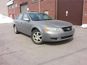 2007 Hyundai Sonata/ 4 Cylinder / MAGS / A/C / GROUPE ELECTRIQUE