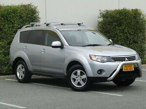 2009 Mitsubishi Outlander ZG MY09 Activ Silver 6 Speed Constant Variable Wagon Melrose Park Mitcham Area Preview