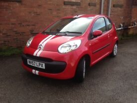 57reg CITROEN C1 998cc - ONLY £20 PER YEAR ROAD TAX, CHEAP TO RUN AND INSURE, IDEAL FIRST CAR