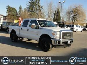 2015 FORD F-350 SUPER DUTY XLT CREW CAB SHORT BOX 4X4 DIESEL