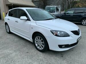 2008 Mazda 3 BK MY08 Maxx Sport White 4 Speed Auto Activematic Hatchback Lisarow Gosford Area Preview