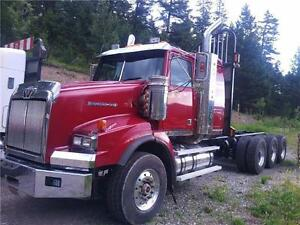 2009 Western Star Tri Drive and Small sleeper