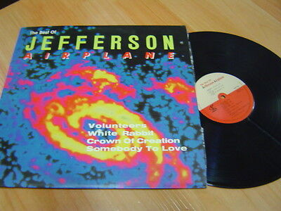 THE BEST OF JEFFERSON AIRPLANE KOREA LP 12