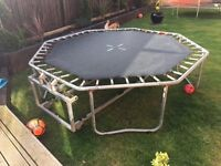 TRAMPOLINE 8FT FOLDING FROM B&Q - PICK UP ONLY AS SEEN