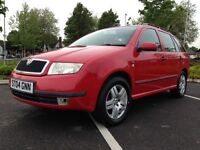2004(04) SKODA FABIA ELEGANCE TDI FULL SERVICE HISTORY LOW RUNNING COST CHEAP TAX 2 KEYS