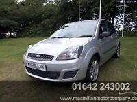 FORD FIESTA STYLE CLIMATE 16V, Silver, Manual, Petrol, 2007