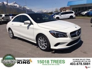 2018 Mercedes Benz CLA 250 AWD leather nav sunroof low kms clean