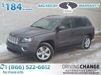 2015 Jeep Compass Sport LEATHER & 4X4