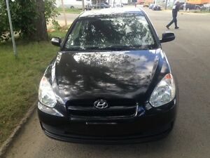 2011 Hyundai accent with free 6 months free warranty