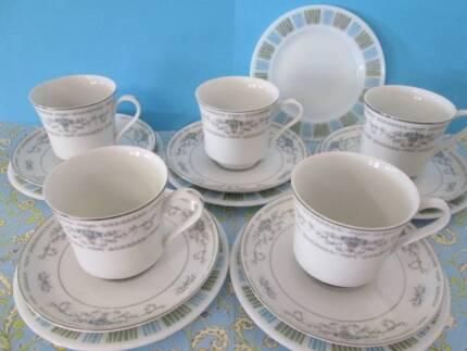 Retro and Vintage - Tea Cup Trios   Collectables   Gumtree Australia ...
