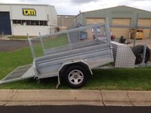 Galvanised heavy duty box trailer with tilt Toowoomba 4350 Toowoomba City Preview