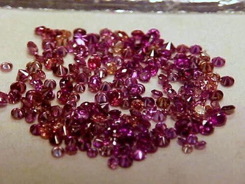 GENUINE PURPLE PINK DIAMOND LOT 1 CTTW EXCELLENT SPARKLE
